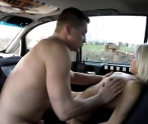 Engaged Blonde Model Fucks...