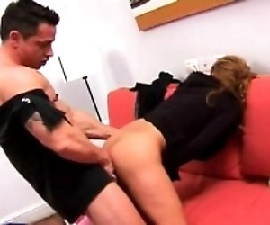 Anal team-fucked hot lovely...