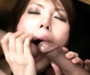 Rino Asuka plays naughty...