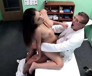 Horny Euro patient bangs...
