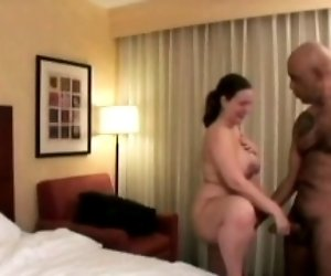 Pregnant slut gets shaved...