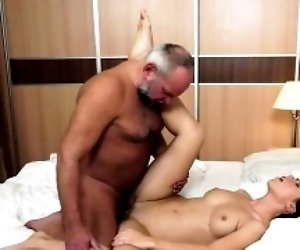 Daddys friend fucks my...
