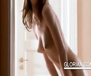 Naked sex doll Gloria shows...